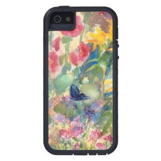 Watercolor Butterfly by Sue Ann Jackson iPhone 5 Cover