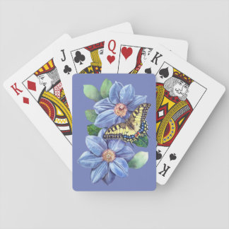 Watercolor Butterfly Playing Cards