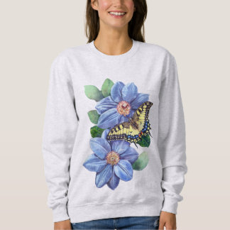 Watercolor Butterfly Sweatshirt