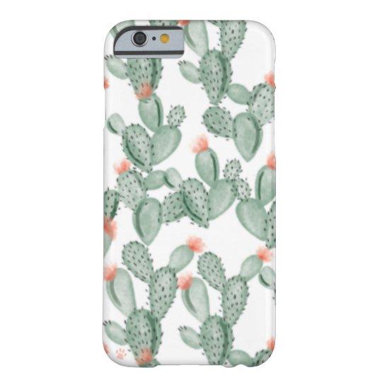 Watercolor Cactus Phone Case
