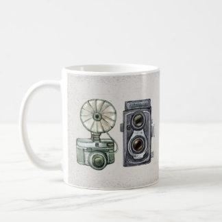watercolor camera 4 coffee mug