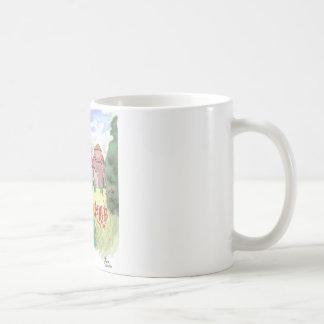 Watercolor Campus Classic White Coffee Mug