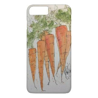 Watercolor Carrots 6/6s Plus iPhone Case