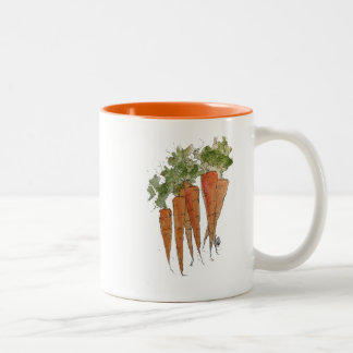 Watercolor Carrots Mug