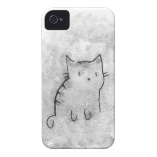 Watercolor Cat Design Case-Mate iPhone 4 Case