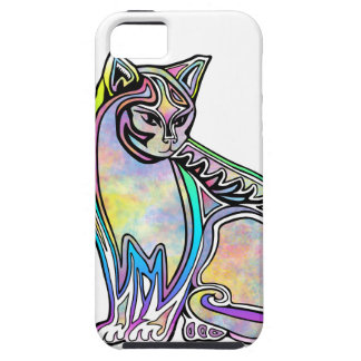 Watercolor cat iPhone 5 case