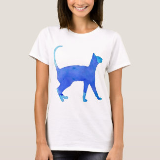 Watercolor Cat T-Shirt