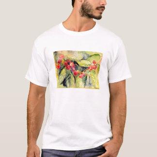 Watercolor Cherries T-Shirt