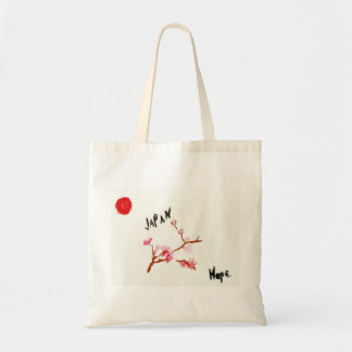WaterColor Cherry Blossom Japan Hope Tote Bag
