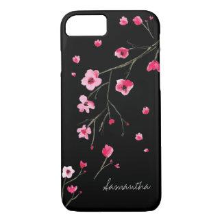 Watercolor Cherry Blossoms by LD Design Loft iPhone 8/7 Case