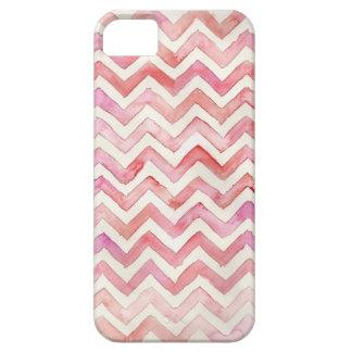 Watercolor Chevron iPhone Case