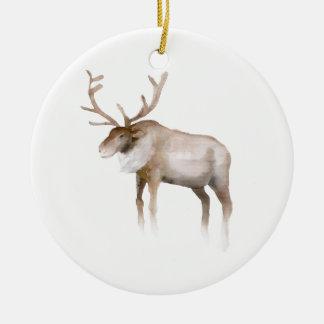 Watercolor Christmas Ornament
