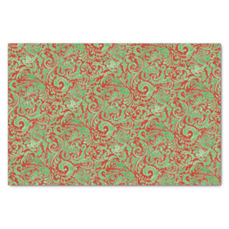 Watercolor Christmas Stencil Tissue Paper