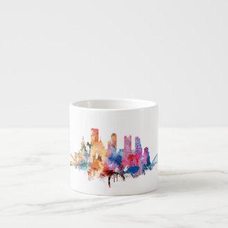 Watercolor City Skyline Mug