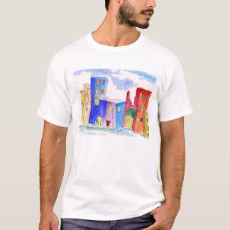 Watercolor city T-Shirt