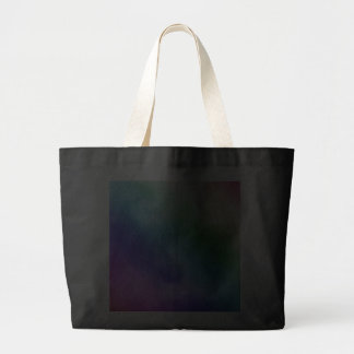 Watercolor Clouds in Rainbow Hues Canvas Bag