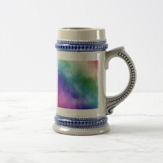 Watercolor Clouds in Rainbow Hues Coffee Mugs