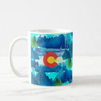 Watercolor Colorado Coffee Mug