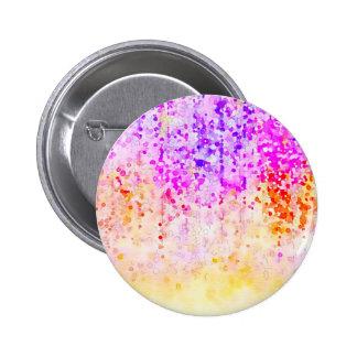 Watercolor Confetti 6 Cm Round Badge