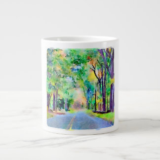 Watercolor Country Road Mug