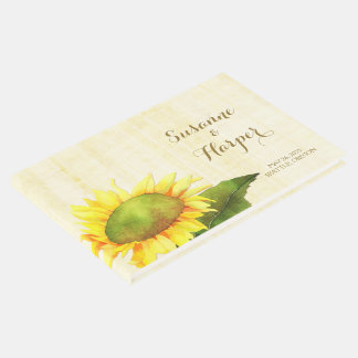 Watercolor Country Sunflower Wedding
