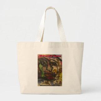 watercolor cover bag