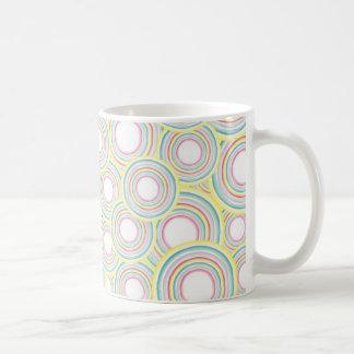 Watercolor cup designs basic white mug