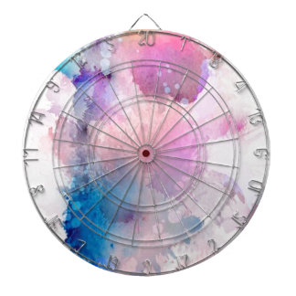 Watercolor Dartboard