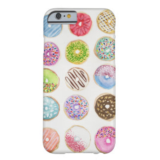 Watercolor Donut Phone Case