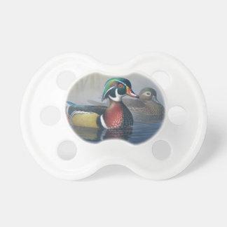 Watercolor Duck Pacifier