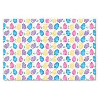 Watercolor Easter Egg Hunt Pattern Tissue Paper