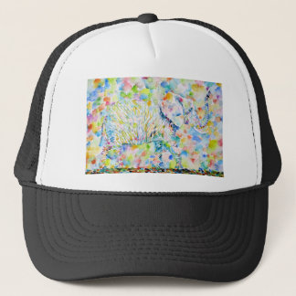 watercolor ELEPHANT .3 Trucker Hat