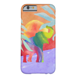 Watercolor Elephant Barely There iPhone 6 Case