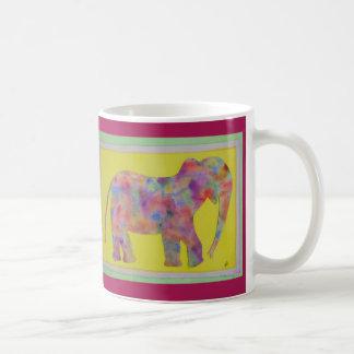 Watercolor Elephant Coffee Mug