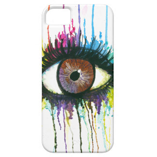 Watercolor Eye Barely There iPhone 5 Case