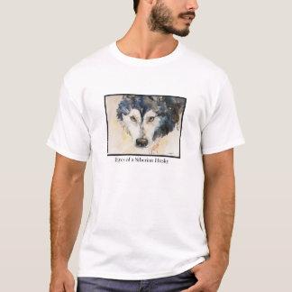 Watercolor Eyes of a Siberian Husky T-shirt