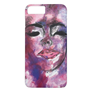 Watercolor Face iPhone 7-8 Plus case