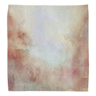 Watercolor Fall Background Bandana
