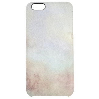 Watercolor Fall Background Clear iPhone 6 Plus Case