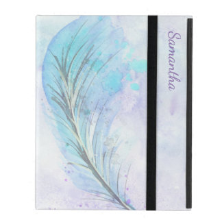 Watercolor Feather iPad 2/3/4 Case