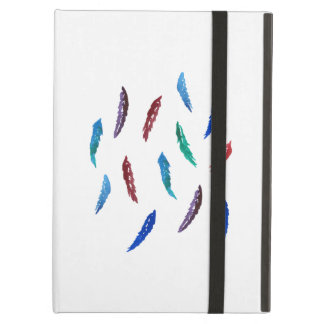 Watercolor Feathers iPad Air Case