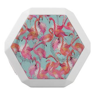 Watercolor Flamingos Gathered