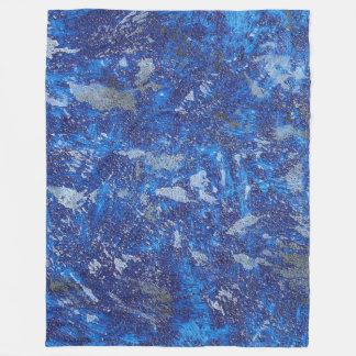 Watercolor Fleece Blanket