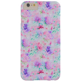 Watercolor floral aster painting pattern barely there iPhone 6 plus case