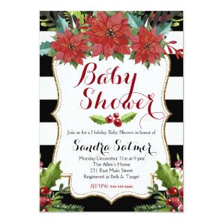 Christmas Baby Shower Cards Invitations Zazzle Com Au