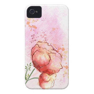 Watercolor Floral iPhone 4s Case