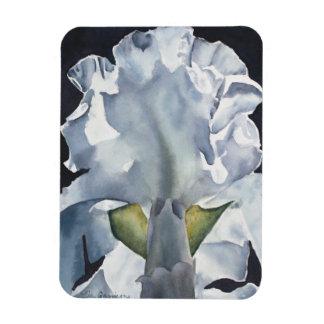 Watercolor Flower Iris Print Magnet