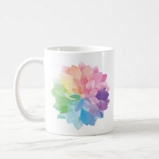 Watercolor Flower Mug