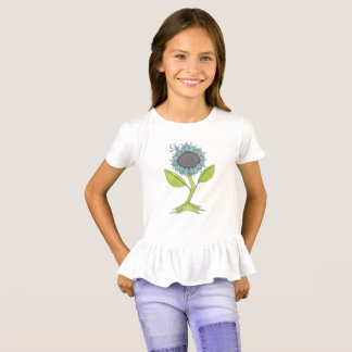 Watercolor Flower - Rejoice! T-Shirt