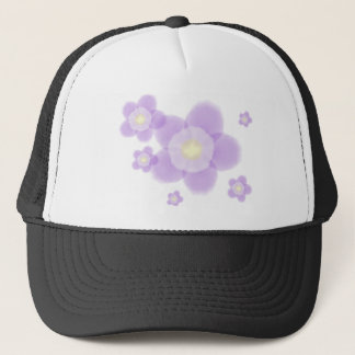 Watercolor Flower Trucker Hat